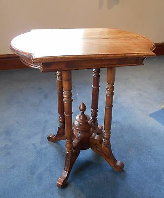Occasional table polished mahogany Victorian approx. 1860