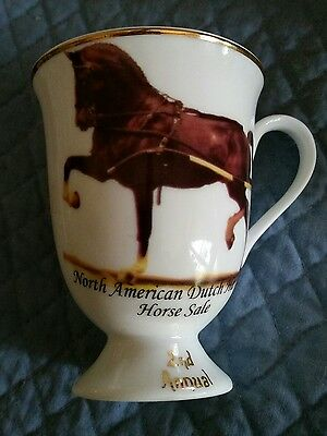 North American DUTCH Horse Sale   Driving  Harness Trophy Cup