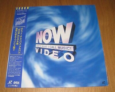Now That's What I Call Music Video - Japan Laserdisc - 1994 - With OBI