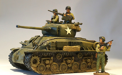 King And Country - Ww2 Dday American - Dd027 M4 Sherman