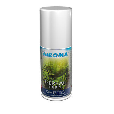 Airoma Aerosol Herbal Fern Refill 100ml - Pack of 12