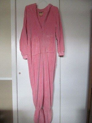 BIG FEET Pajama Co. - Adult Zipper Lounge Suit ONESIZE with hood – SIZE MEDIUM