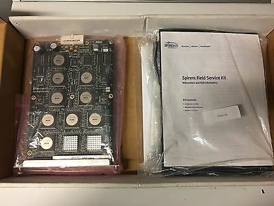 New in Box Spirent Smartbits LAN-3100A 8 port, 10/100Base-TX ESD Case