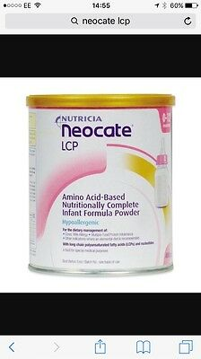 2xNeocate Lcp Amino Acid-based , Nutritionally Complete, Infant Formula, 2x400g