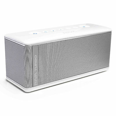 Riva Turbo X Bluetooth Portable Speaker System - RTX01W - White