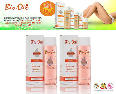 "2 x Bio Oil 200ml (in total 400ml)  ""SUMMER SALE £18.99"""