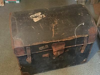 Bow top Steamer Trunk