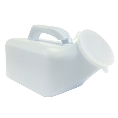 Male Camping Travel Outdoor Portable Urinal Toilet Bottle Pot with Lid 1000ml