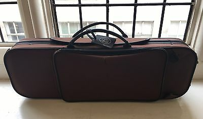Pedi 9100 Aluminium Strengthened Violin Case Brown