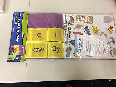 Learning Resources Word Building Center Pocket Chart Blends and Vowel Combos
