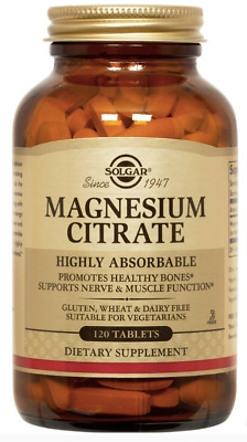 Solgar Magnesium Citrate (120 Tablets) # 1711