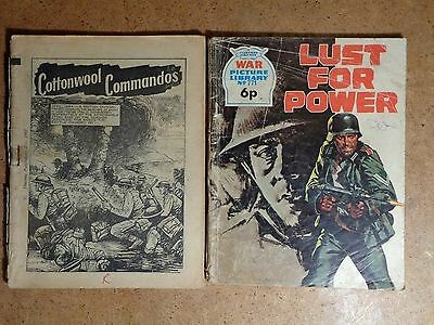 War Picture Library Comics No.771 Lust For Power & Cottonwool Commando's 1962/72