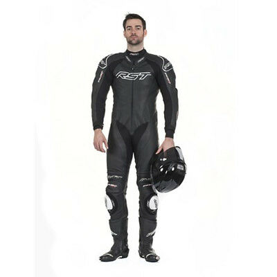 Rst Tractech Evo Ii 1415 Leather Sports Track Motorcycle Suit Black
