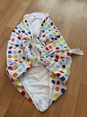 snugglebundl baby carry blanket/ bedding wrap