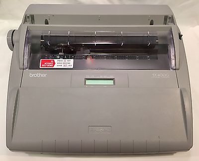 Brother SX-4000 Electronic Typewriter - LCD Display/Built-In Dictionary