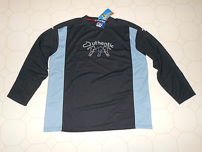 Men's Authentic Sports XL Long Sleeve Shirt DRY TECH Athletic Top NEW