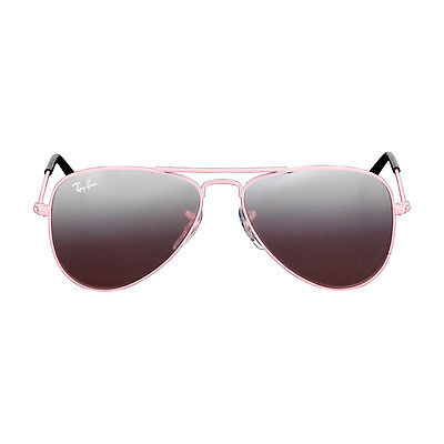 Ray-Ban Aviator Junior Pink Frame Sunglasses 0RJ9506S