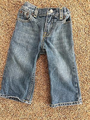 Ralph Lauren Toddler Boy Size 18 Months Jeans Pants Boot cut Elastic