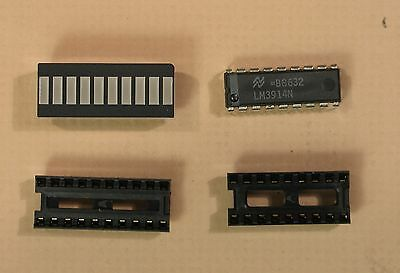 LED Bar Graph Sets including Driver and Sockets