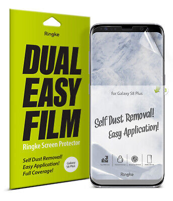 Samsung Galaxy S8 Plus Screen Protector | Ringke [Full Coverage] Skin Film [2pc]