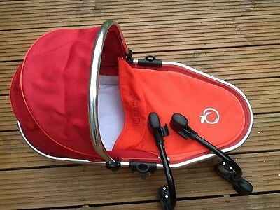 icandy peach blossom adaptor converter bars and lower carrycot