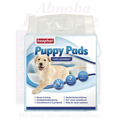 Beaphar Puppy Pads very absorbent ideal floor cover under feeding & water bowls