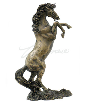 Rearing Horse Statue Sculpture Figure - HOME DECOR