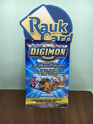 Digimon Cards Animated Series 1 Booster Pack Sealed New English