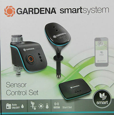 gardena smartsystem sensor control set bew sserung per app start set neu ovp eur 299 00. Black Bedroom Furniture Sets. Home Design Ideas