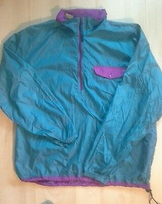Vintage LL Bean windbreaker pullover Size Large camp/hike outdoor,made in USA