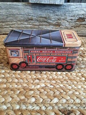 Coca-Cola Tin Can Bus 1993 Every Bottle Sterilized