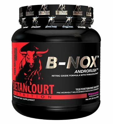 Betancourt Bullnox Androrush B-Nox PreWorkout Drink Mix All Flavors 35 Servings