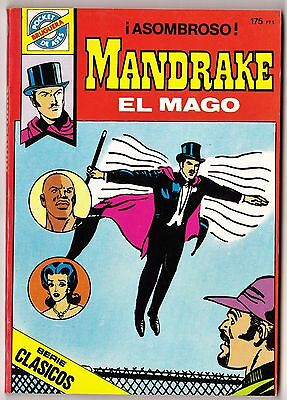 Pocket de Ases nº: 33 MANDRAKE de Lee Falk (160 páginas color) Bruguera