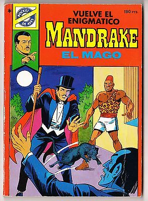 Pocket de Ases nº: 38 MANDRAKE de Lee Falk (160 páginas color) Bruguera