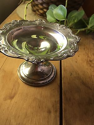 Vintage Gorham Sterling Silver 740 Footed Dish