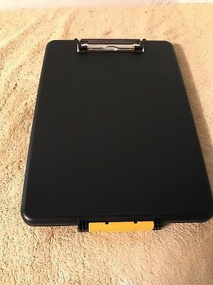 Office Storage Clipboard Paper Note Pad Holder Document Case Slimcase Plastic