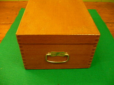 Antique Wood Dovetailed  Box