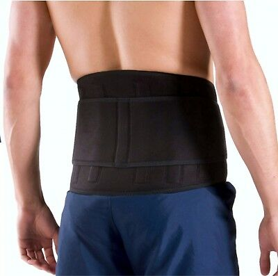 Evo Lumbar Back support Belt Neoprene Yoga Weightlifting Gym Manual work Use