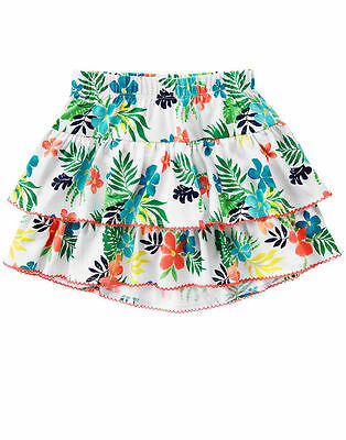 NWT Girls Gymboree Sunny Safari Skirt Skort  size 3T