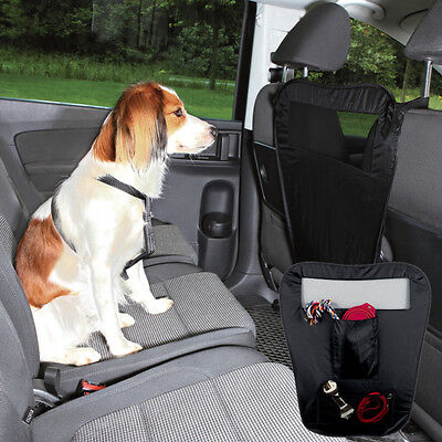 Car Separation prevents dogs climbing onto front seat large pocket space-saving