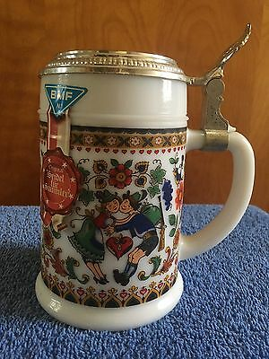 Beer Steins/ Mugs. Over 100 in collection.  All have been behind glass.