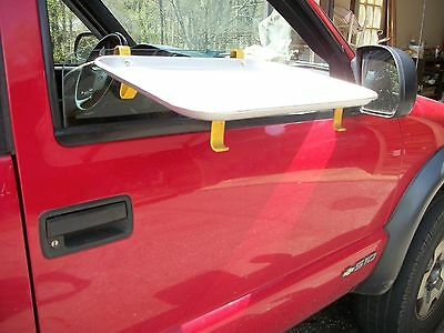 Nice Vintage Traco Aluminum  Car Hop Drive In Tray, Attaches to Window, Nice One