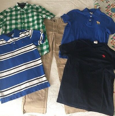 Lot Of Boys Size 10 Clothes: Gap, Abercrombie, Tommy