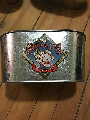Campbell's Soup Vintage Style Kid Galvanized Tub