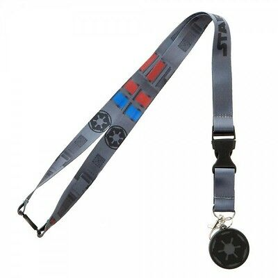 Star Wars Classic Darth Vader Costume Lanyard Rogue One ID Holder Licensed