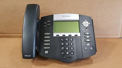 Polycom SoundPoint IP 550 Display Telephone Phone Complete Refurbished