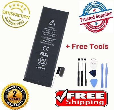 Brand NEW Original OEM Replacement iPhone 5S/5C Battery 1560 mAh With Free KIT
