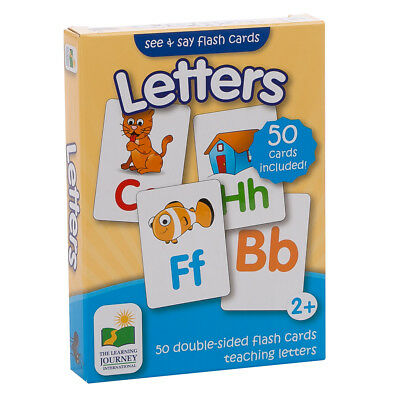 NEW The Learning Journey Flash Cards Letters