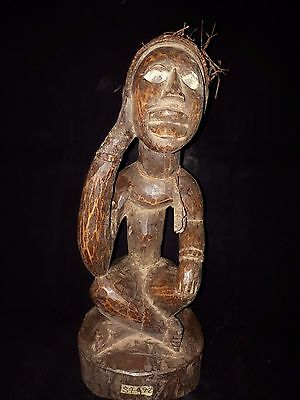 Old Tribal Yombe power figure DRC Atrica fes57972
