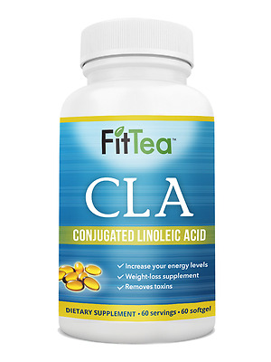 Fit Tea CLA Removes Toxins,Weight-loss, NO GMO, Recommended